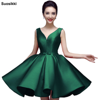 Suosikki Sexy Short Cocktail Dresses Bridal Banquet Wine Red stain Backless Party Formal Dress Homecoming Dress Robe De Soiree