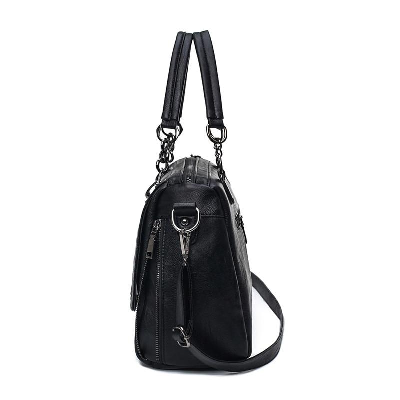 qualidade para mulheres negras bolsa Sac a Main Femme : Woman Bags
