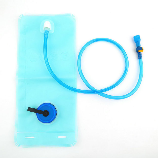 2L Bicycle Bike Cycling Mouth Water Bladder Bag Hydration Camping Sports Blue Bag