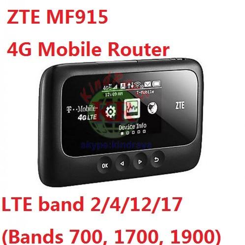 Unlocked ZTE MF915 Z915 4G Mobile Broadband WiFi Hotspot Router PK E5576 E5573 E8377 цена