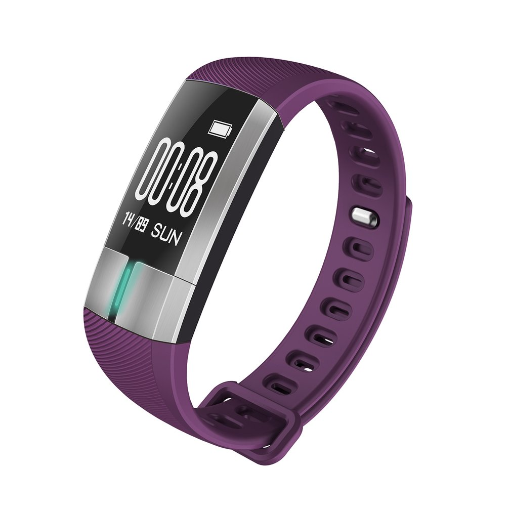 G20 Waterproof ECG Monitor Smart Band Heart Rate Blood Pressure Sports Bracelet Fitness Watch Smartband For IOS For Android jaysdarel g20 blood pressure heart rate ecg monitor smart watch oled ip67 smart bracelet fitness tracker for android ios