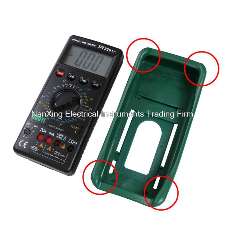 Arrivée rapide DY2201C AC DC voltmètre ampèremètre ohmmètre numérique multimètre automobile réparation multimètre - 4