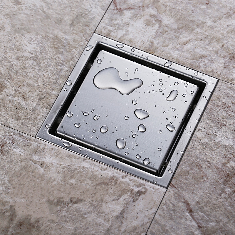 Tile Insert Square Floor Waste Grates Bathroom Shower