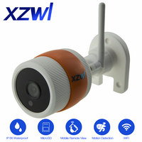 XZWL 1080P HD Wireless CCTV IP Camera WIFI Camera Outdoor Waterproof Monitoring Security Video System Infrared