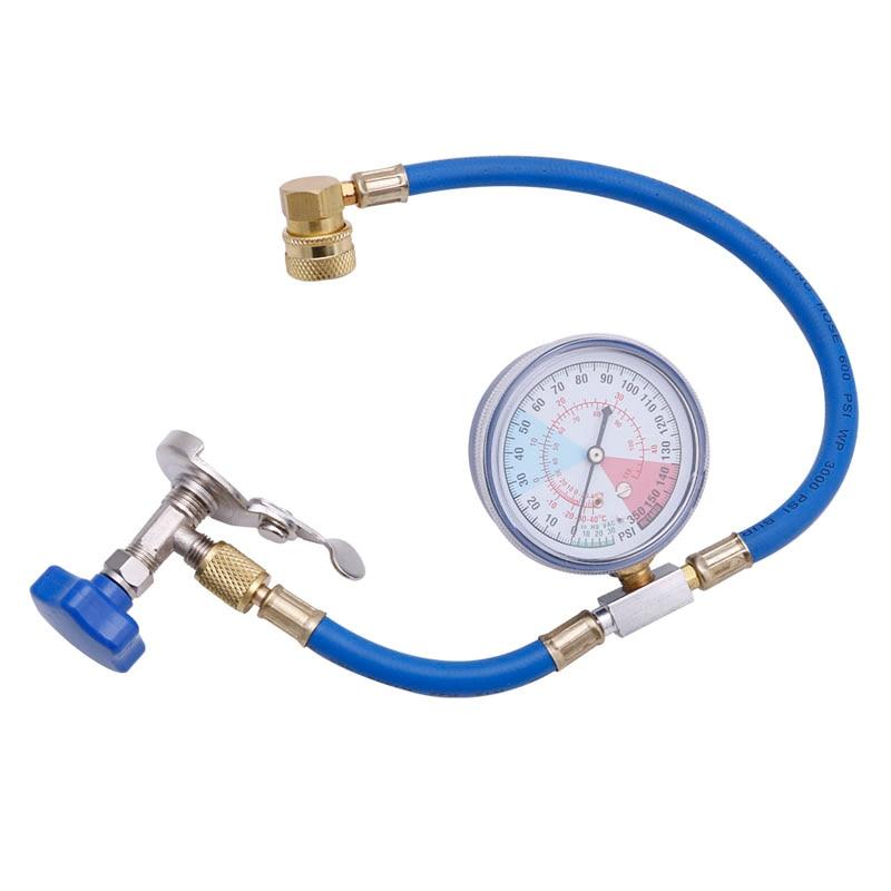 R134A 空調充電測定ホースゲージバルブ冷媒管の自動カーエアコンアクセサリー