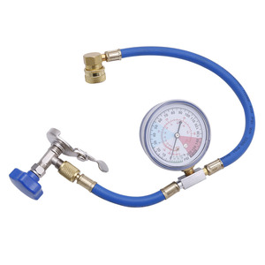 R134A Air Conditioning Recharge Measuring Hose Gauge Valve Refrigerant Pipe Auto Car Air-conditioning Accessories(China)