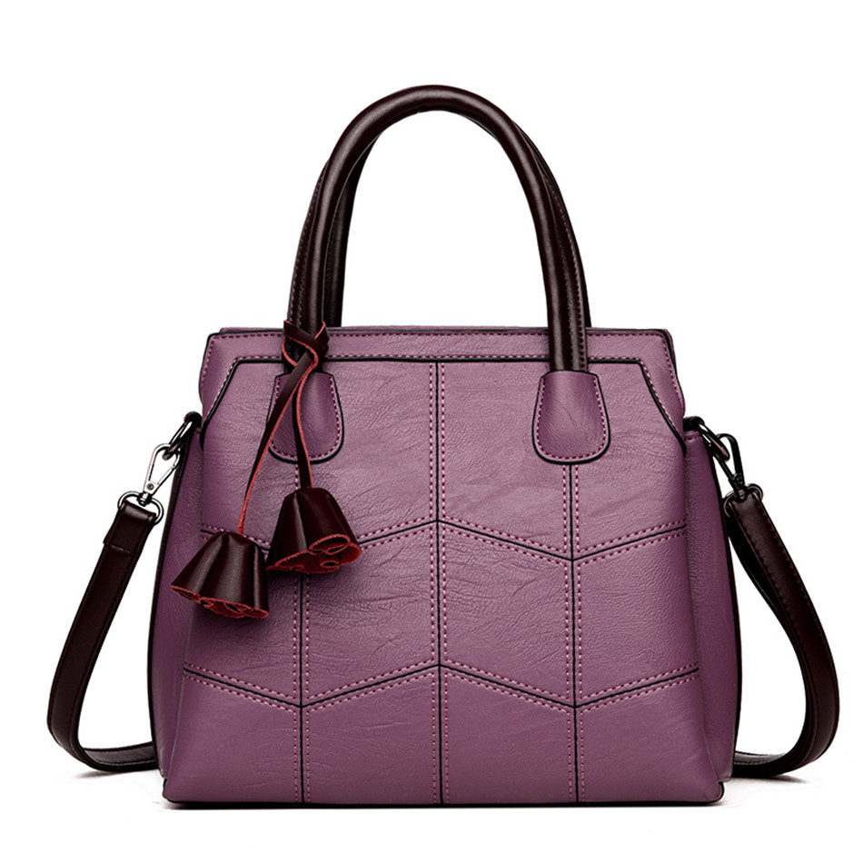 Chloe Leather Casual Shoulder Handbag (TWH09)