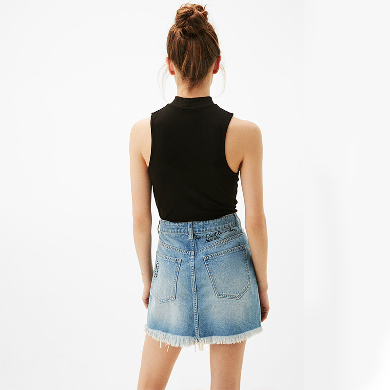 Sleeveless Top Women New Hanging Neck Vest Female Summer Solid Color Slim Short T Shirt Womens Clothing Summer Tops 2019 New in Camis from Women 39 s Clothing