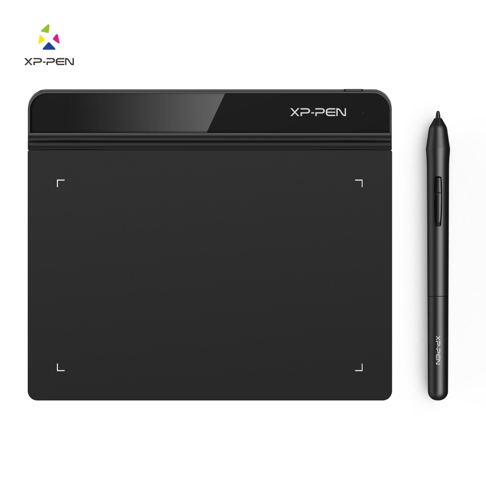 XP-Pen Star G640 Graphics tablet Digital tablet Drawing for OSU and drawing 8192 Levels Pressure 266RPS for beginner kids sticker