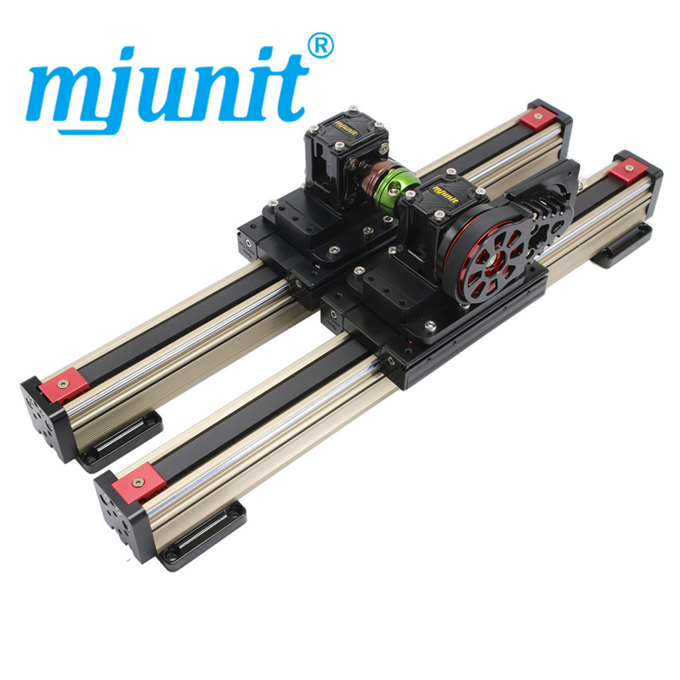Mjunit 45M Linear synchronous belt guide aluminum alloy slide table module automatic glue spraying machine manipulator