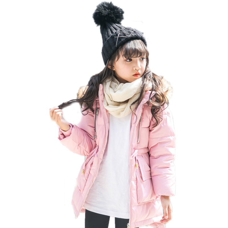 girl winter coat 2017 children clothing solid hooded white duck down kids winter jackets for girls long section girl snowsuit a15 girls jackets winter 2017 warm white duck down jacket for girl coat kids clothes solid long hooded outerwear 8 10 12 14 year