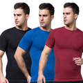 Mens Slimming Body Shaper Tummy Belly Waist Girdle CincherTee Shirt Underwear Shapewear Bodysuit New Yo
