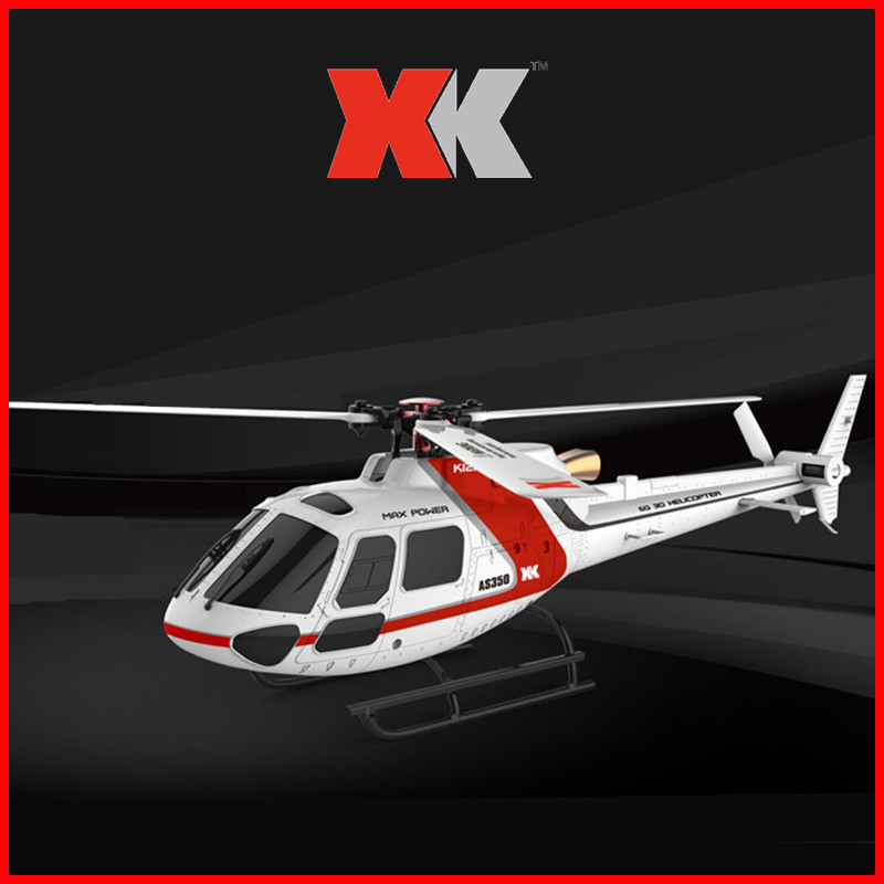 Original XK K123 6CH Brushless AS350 Scale 3D6G System RC Helicopter RTF Upgrade WLtoys V931 in RC Helicopters from Toys Hobbies