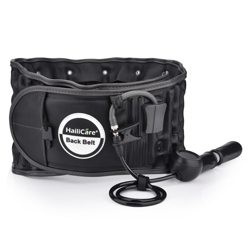 Back Decompression Waist Belt Back Massager Back Pain Relief Lumbar Inflatable Traction Belt Back Waist Support Brace Free Size недорго, оригинальная цена