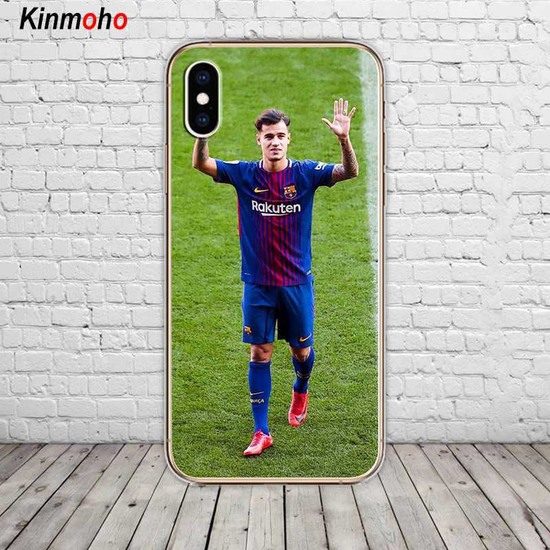 215120c87 ... Barcelona Lionel Messi Philippe Coutinho Football Soft TPU Phone Case  Cover For iPhone 7 6 6S ...