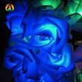 Rosa Solar LED Luzes Da Corda Do Jardim Romântico 100 Leds 12 M Festa Festival Do Feriado Do Natal Decoração Do Jardim Ao Ar Livre Lâmpadas Solares