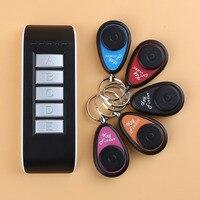 2017 جديد وصول اللاسلكية الالكترونية مفتاح مكتشف تذكير مع 5 إستقبال لل مفاتيح المفقودة محدد الصافرة مفتاح مكتشف المفاتيح الساخنة