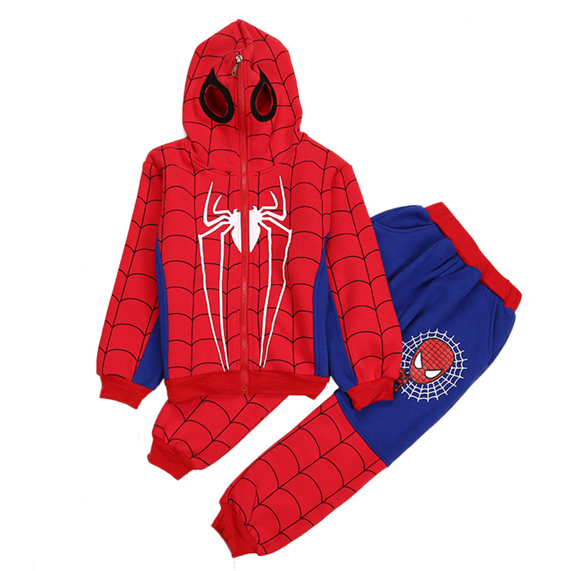 Spiderman Spider-Man Homecoming Cosplay Costume for kids Printed Spandex Suit Spidey Bodysuit children boy Halloween CM313