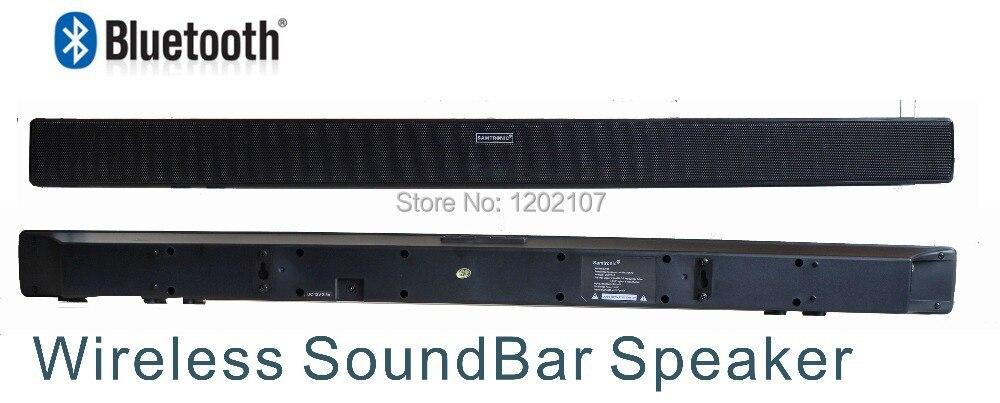 2017 New Model Ultraslim Wireless Bluetooth Speaker Soundbar Sound Bar Home Theater Hifi Audio System For Led Tv Free Shipping