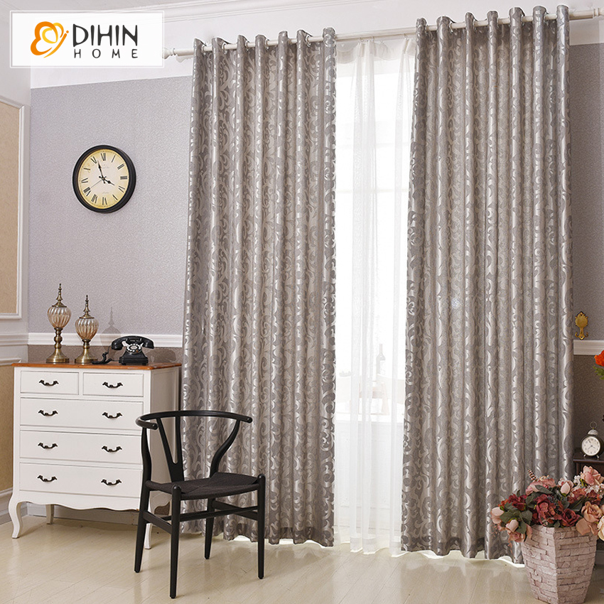 Buy jacquard weave modern curtain for for Cortinas para sala pequena