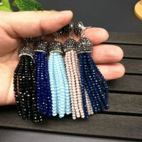 YNB Vintage Agate Tassel Long Earrings For Women 2017 Newest Nature Stone Earrings White Black Blue
