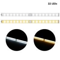 Pair Of TDL 7116B A Wireless 32 LEDs Light With Motion Sensor For Cabinet / Closet / Stair Lights Sensor Leds Motion Lights