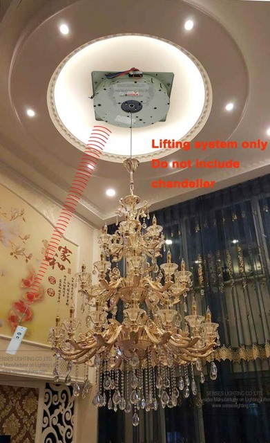 Auto remote controlled chandelier winches chandelier lift auto remote controlled chandelier winches chandelier lift chandelier hoist ddj250 max rated weight 250kgs mozeypictures Gallery