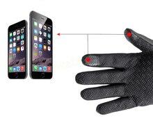 Sport windstopper ski gloves