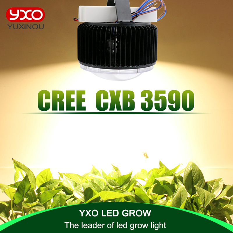 Cree CXB3590 100W COB led grow light Full Spectrum Meanwell driver for Hydro Medical Indoor Plant Veg Flowers Grow Tent Lighting original cree cxa2530 cxa3070 50w 65w 100w cree led grow chip light 3000k 5000k for led high bay flood grow light medical plants