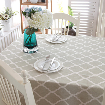 Byetee dibujo de cuadros de mesa decorativa tela mantel para cocina inicio decoración comedor cubierta rectangular Mesa mesas