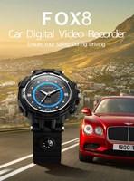 F0X8 שעון חכם WIFI IP המצלמה P2P מצלמת רכב מקליט וידאו דיגיטלי שעון ספורט תחת כיפת השמיים