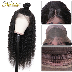 Image 3 - Nadula 머리 13*4/13*6 딥 웨이브 레이스 프런트 인간의 머리가 발 여성을위한 브라질 레미 헤어 스위스 레이스가 발 평균 크기