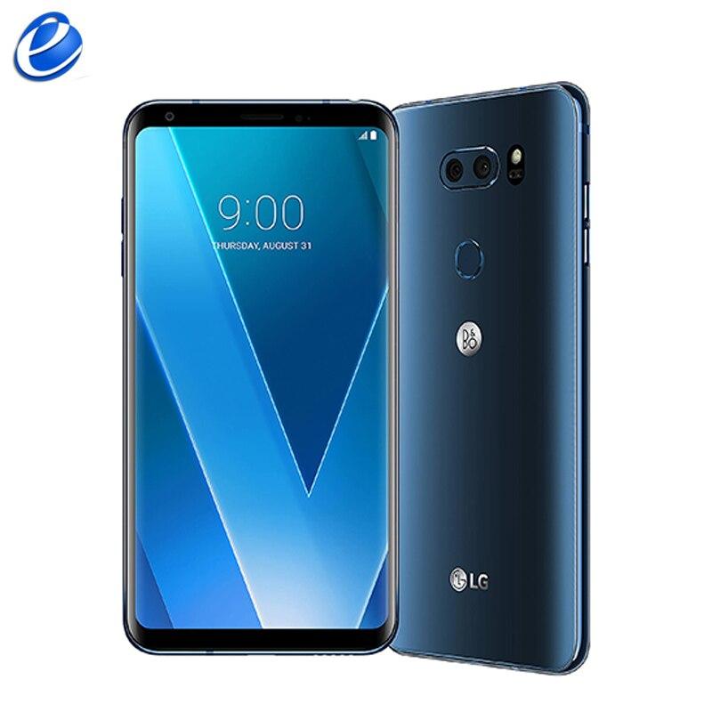 Original Unlocked LG V30 H930 EU version Octa core Single Sim Android Cellphone 6.0'' inch 4G RAM 64G ROM 4G LTE Fingerprint(China)