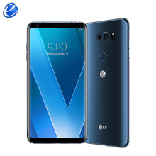 Original débloqué LG V30 H930 version ue Octa core simple Sim téléphone portable Android 6.0 ''pouces 4G RAM 64G ROM 4G LTE empreinte digitale(China)