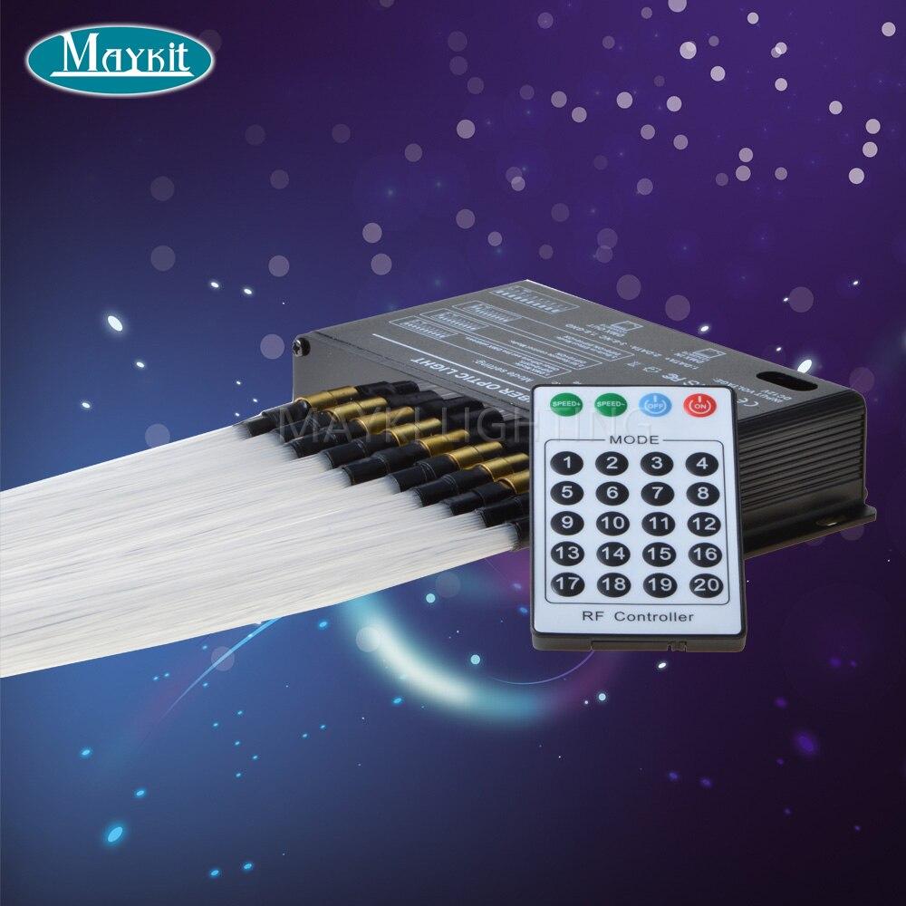 Maykit Wholesale Affordable DMX 512 Control LED Fibre Optic Decorative Meteor LED Projector Plastic Fiber Cable