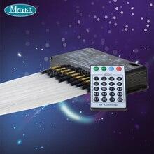 Maykit hurtownie korzystnym cenowo sklepie DMX 512 sterowania LED światłowodowe dekoracyjne Meteor projektor LED włókno z tworzywa sztucznego kabel