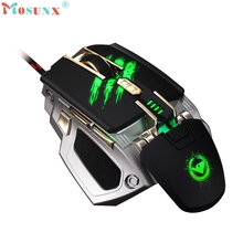 250/500/750/1000/1250/1500/1750/2000/2500/3000/3500/4000 DPI 7 Buttons LED Mechanical Wired Gaming Mouse Drop Shipping Oct10