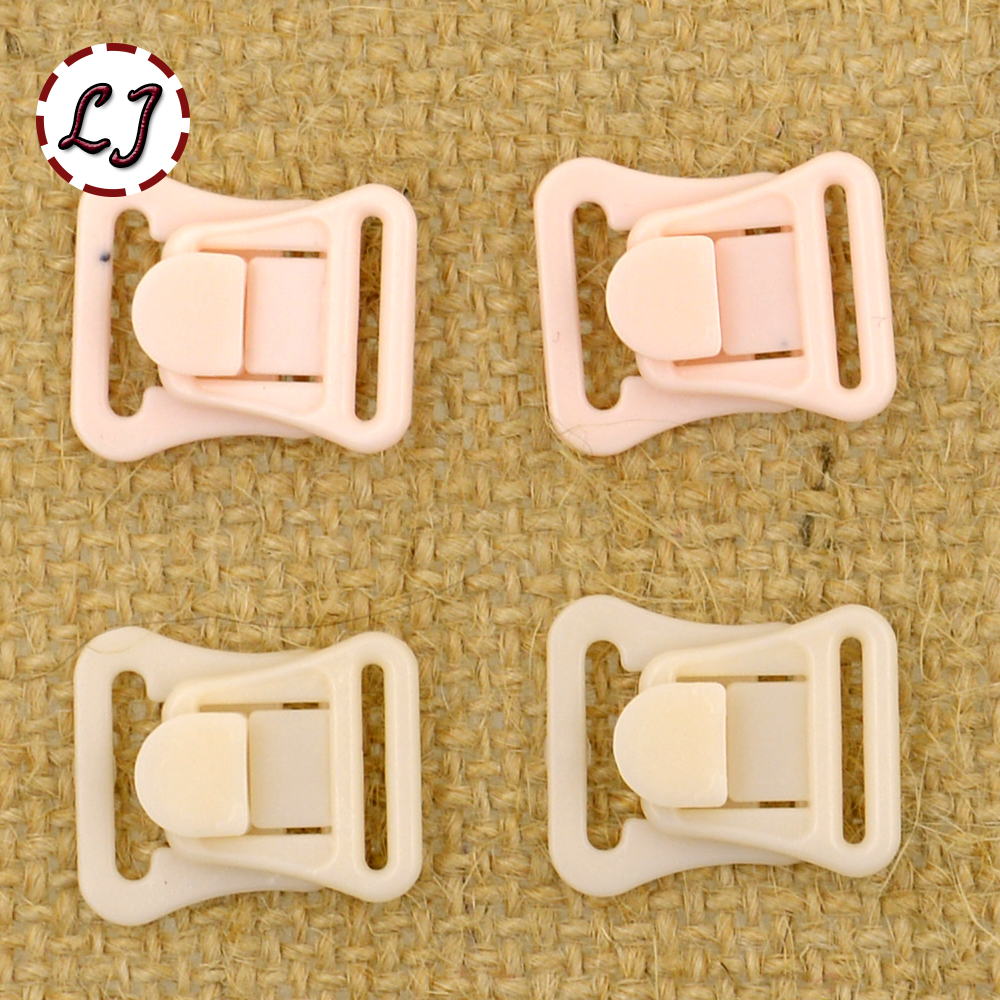10set lot small craft plastic rectangle tape closure hook clasp waist extenders sewing on