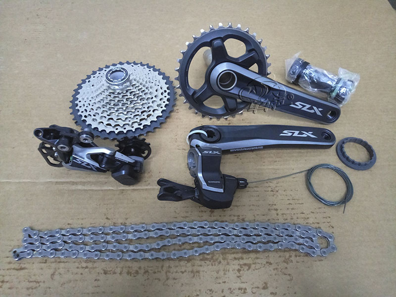 SHIMANO SLX M7000 1x11S Speed Mountain Bike Groupset MTB Bicycle Kit shimano deorext fd m780 m781 front transmission mtb bike mountain bike parts 3x10s 30s speed