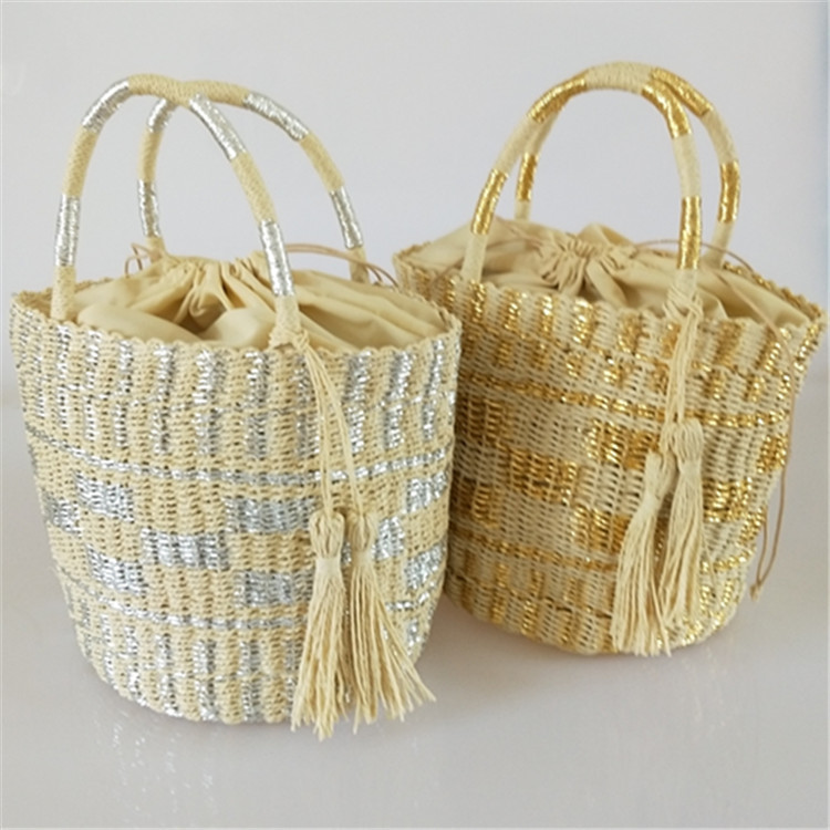 2018 New Fashion Straw Handbag Women Summer Rattan Bag Handmade Woven Beach Crossbody Bags For Women Bag Panelled Totes цена