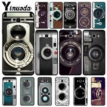 Yinuoda คลาสสิก retro Black silver vintage Case โทรศัพท์สำหรับ Samsung Galaxy j6plus j7 prime j8 j2 prime j4plus 2018 funda(China)