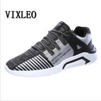VIXLEO Hot Sales Casual Shoes For Men Fashion Light Breathable Cheap Lace Up Male Shoes Super