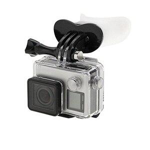 Image 5 - שיניים מחזיק גלישה צלילה מתחת למים לצוף סיליקון פה הר עבור GoPro גיבור 8/7/6/5/4/3/3 +