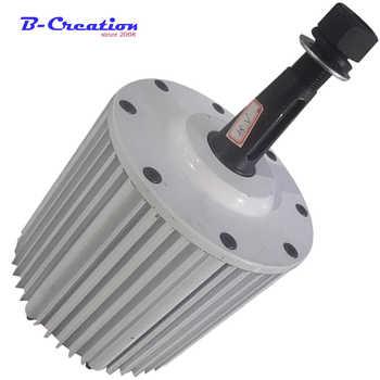 5382aa6814b Bajo precio 2000 W Real Gerador De Energia 2kw generador magnético De energía  48 V 96 V Ac tres fase