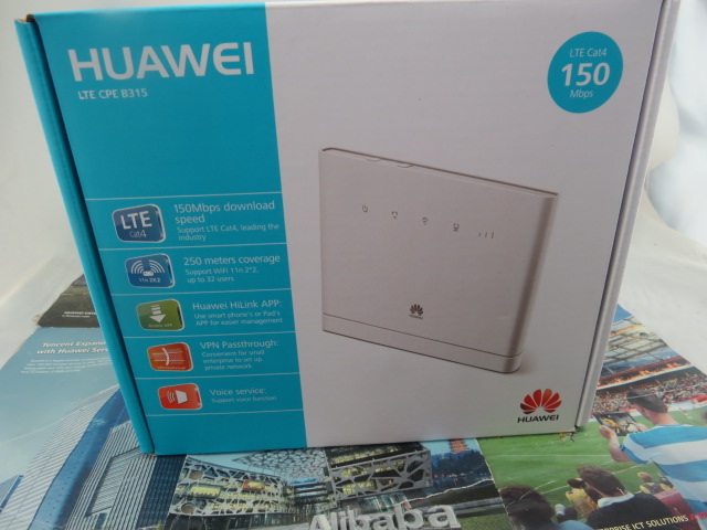 Brand New Sealed Unlocked Huawei B315s 22 4G CPE FDD TDD LTE Router PK B593S 22