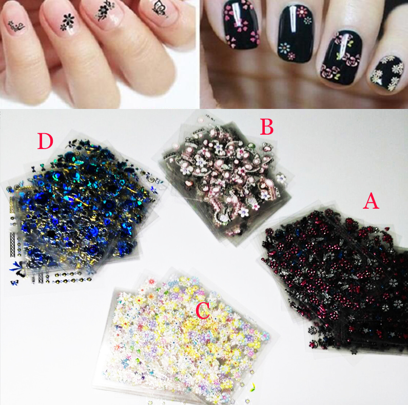 Aliexpress buy 7 styles hot sale nail stickers foils aliexpress buy 7 styles hot sale nail stickers foils transfer nail art sticker decals 3d floral design beauty stamping stickers 30pcslot from prinsesfo Choice Image