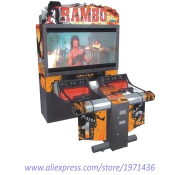 Coin Operated Rambo Shooting Arcade Game