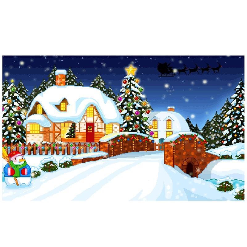 5D DIY Diamond Painting Christmas Decoration for Home Christams Animals Cats Tigers Diamond Embroidery Cross Stitch Home Decor