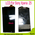 1pcs Black New lcd For Sony Xperia Z5 lcd screen E6603 E6633 E6653 E6683 display with touch digitizer Replacement No Dead Pixel