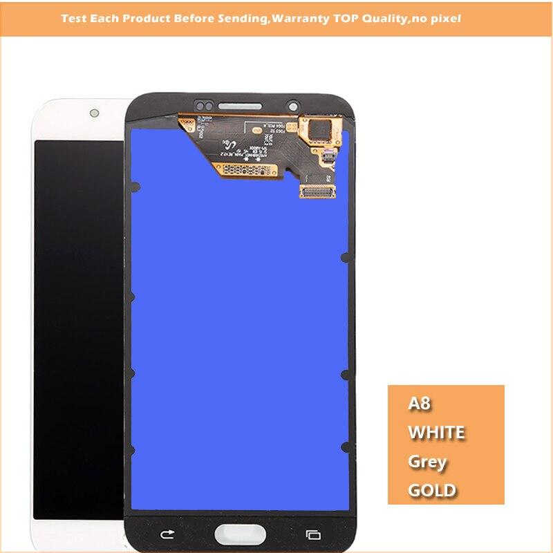 Original 5.7 ''super amoled lcd affichage pour Samsung Galaxy A8 A8000 A800 A800F LCD écran tactile numériseur assemblée complète-in Écrans LCD téléphone portable from Téléphones portables et télécommunications on AliExpress - 11.11_Double 11_Singles' Day 1
